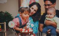 A família do Rafa