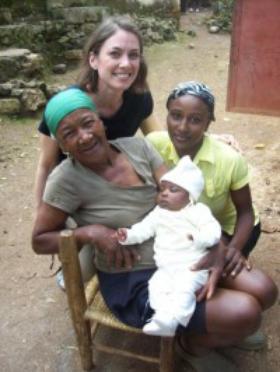 아이티의 간호사
