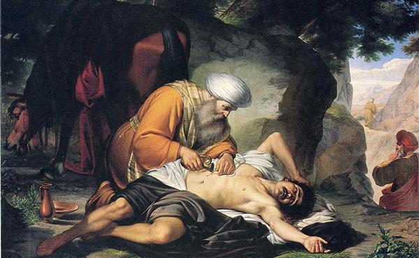 El Papa Francesc explica la paràbola del bon samarità