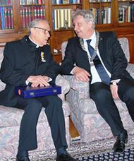 Koninklijke onderscheiding Mgr. Steinkamp