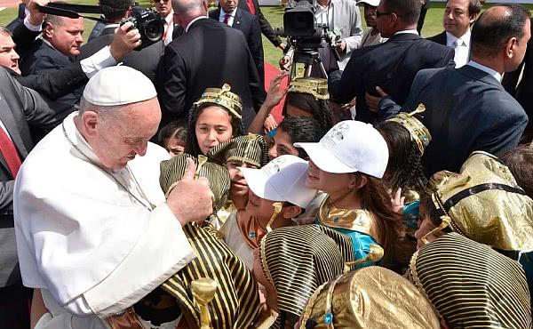 Opus Dei - Papst Franziskus steht koptischen Christen in Ägypten bei
