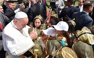 Papst Franziskus steht koptischen Christen in Ägypten bei