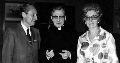 I 1971 var de i Roma og møtte den hellige Josemaria, en god venn av Tomas helt fra de ble kjent med hverandre 1. september 1937.