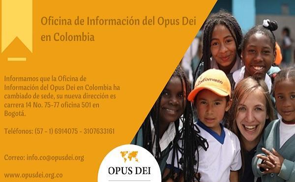 Nueva dirección de la Oficina de Información en Colombia
