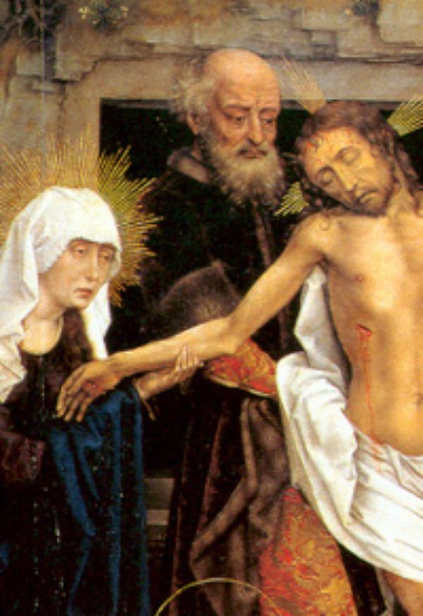 Burial of Christ: Magisterium, Saints, Poets