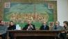"""Mons. Matteo Zuppi, arcivescovo di Bologna, al centro culturale """"L'Arengo"""""""