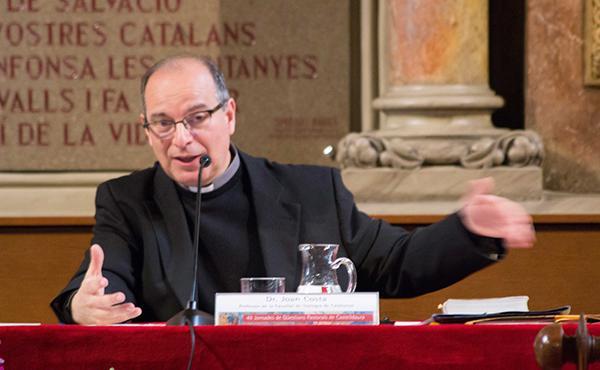 Conferència de mn. Joan Costa sobre el perdó a Montalegre