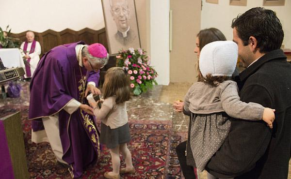 Fotos de la missa d'acció de gràcies a Andorra