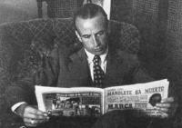 Álvaro Domecq el día de la trágica muerte de su amigo Manolete