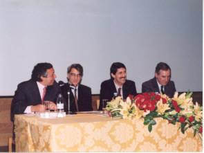António Lobo Xavier, Fernando Pinto Coelho, Humberto Ayres Pereira e António Ramalho Eanes.