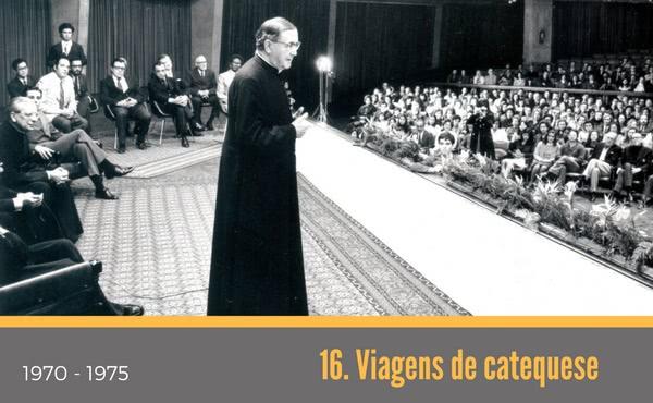 Opus Dei - 16. Viagens de catequese