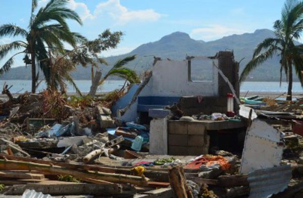 Una respuesta rápida para ayudar a las víctimas del tifón ¨Yolanda¨
