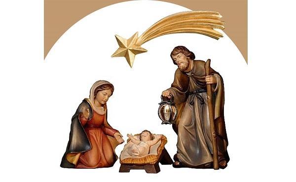 怎樣以置身其中、作為參與其事的一員的思念,在聖嬰馬槽旁邊祈禱。