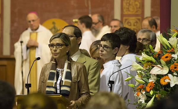 Opus Dei - Fotos de la missa d'acció de gràcies a Sant Feliu de Llobregat