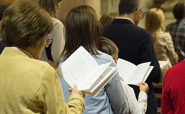 Fotos de la missa d'acció de gràcies a Lleida