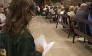 Fotos de la missa d'acció de gràcies a Terrassa