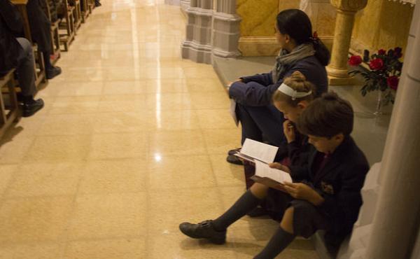 Fotos de la missa d'acció de gràcies a Cervera