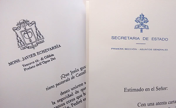 Opus Dei - El Papa Francesc demana fidelitat i un amor misericordiós als assistents de les Jornades de Castelldaura
