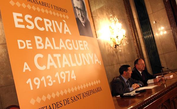 Opus Dei - Reviu les presentacions del llibre 'Escrivà de Balaguer a Catalunya'