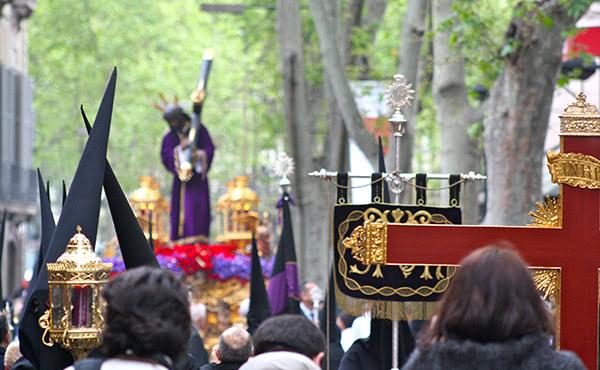 Opus Dei - Mapa de les processons de Setmana Santa a Catalunya