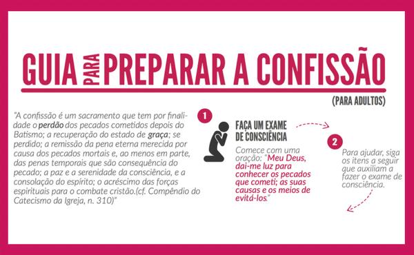 Opus Dei - Exame de consciência para a confissão (adultos)