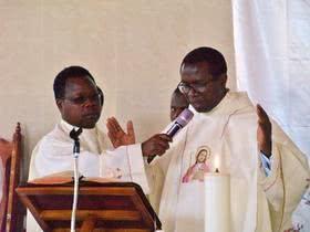 Fr. Martin Mundia Homecoming Mass