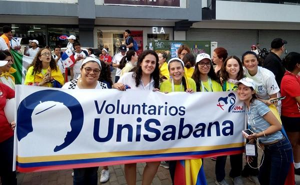Voluntarias de la Sabana en la JMJ: una ocasión para encontrar respuestas