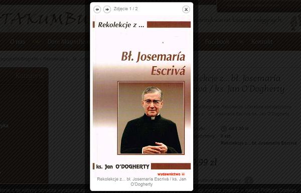 Rekolekcje z...  Św. Josemaría Escrivá