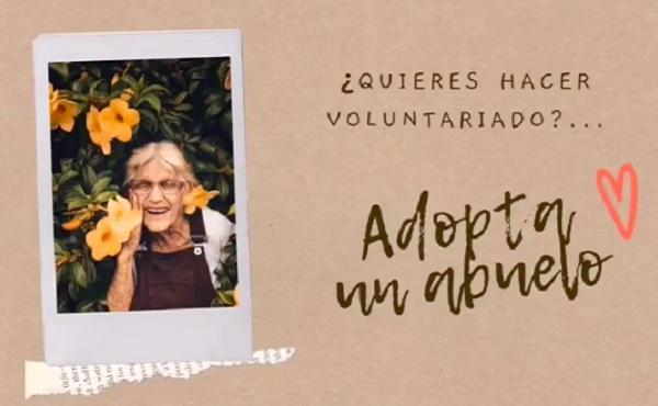 """""""Adopta un abuelo"""", voluntariado desde La Cuesta en Medellín"""