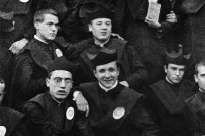 Junio de 1922. San Josemaría en el Seminario de San Carlos (Zaragoza)