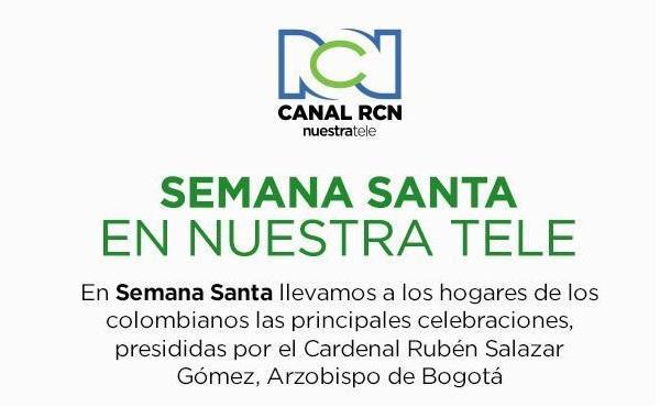 Oficios de Semana Santa con el Cardenal Rubén Salazar Gómez