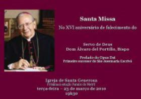 Missas por D. Álvaro