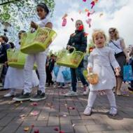Amsterdamse sacramentsprocessie in teken Jaar van het Geloof