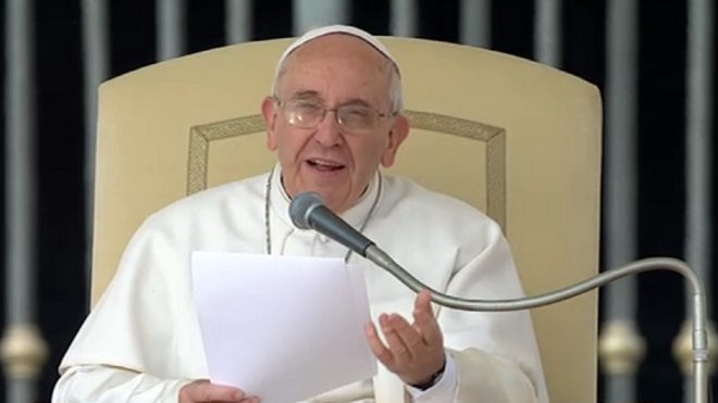 """Opus Dei - Discorso di Papa Francesco all'associazione """"Medici Cattolici Italiani""""."""