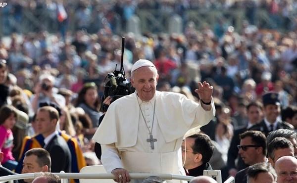 教宗方济各2016年4月6日周三要理讲授:慈悲的福音