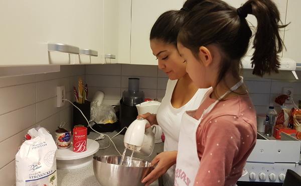 Opus Dei - Desayuno sueco para el Papa: dulce de leche