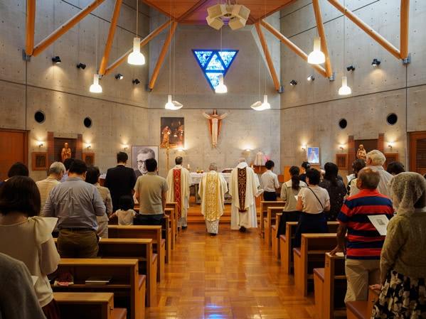 Opus Dei - 聖ホセマリアの記念ミサ(京都、2017年6月)