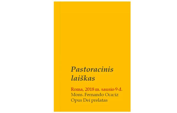 Opus Dei - Prelato laiškas apie laisvę