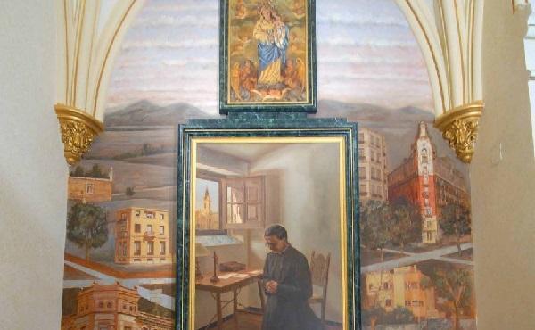 圣施礼华於1928年10月2日看到主业团