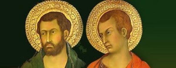 28/10: S. Simão e S. Judas Apóstolos