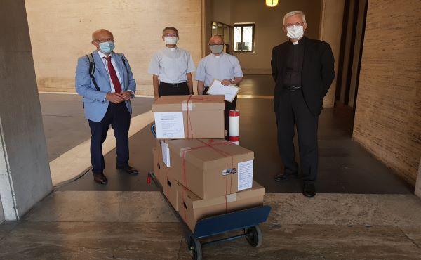 Toni Zweifel: Atti processuali presentati al Vaticano