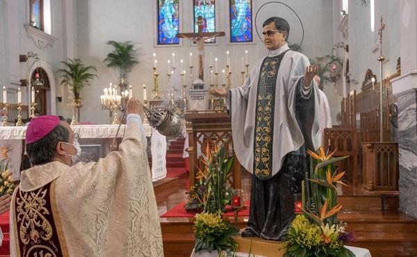 Opus Dei - 在东亚区,在2021年,为庆祝圣施礼华的节日的感恩祭