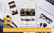 21 ideas para aprovechar el sitio web del Opus Dei