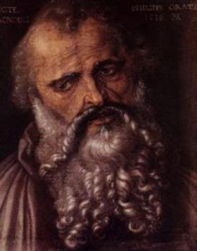 What does the gospel of Philip say?