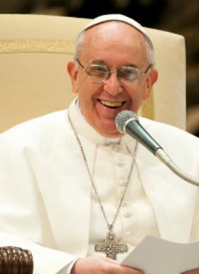에체바리아 단장주교와 교황 프란치스코와의 만남