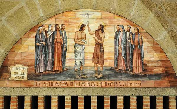 O batismo do Senhor no Jordão