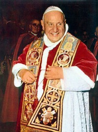 Il beato Giovanni XXIII, il Papa che ha indetto il Concilio Vaticano II.