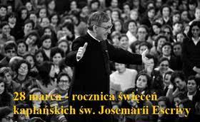 Rocznica święceń kapłańskich św. Josemarii