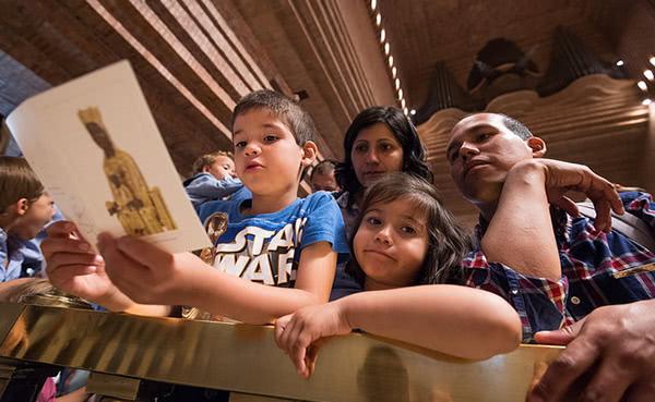Opus Dei - El Santuari de Torreciutat acull les famílies