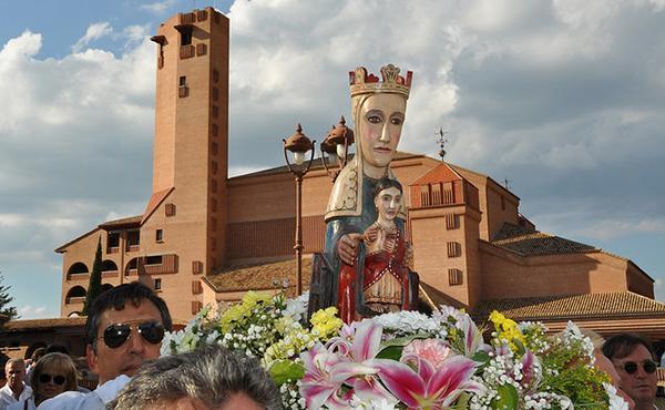 La Mare de Déu de Meritxell al Santuari de Torreciutat